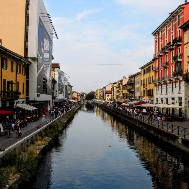 Katherine V. R. Sullivan - MIlan canal Il Naviglio
