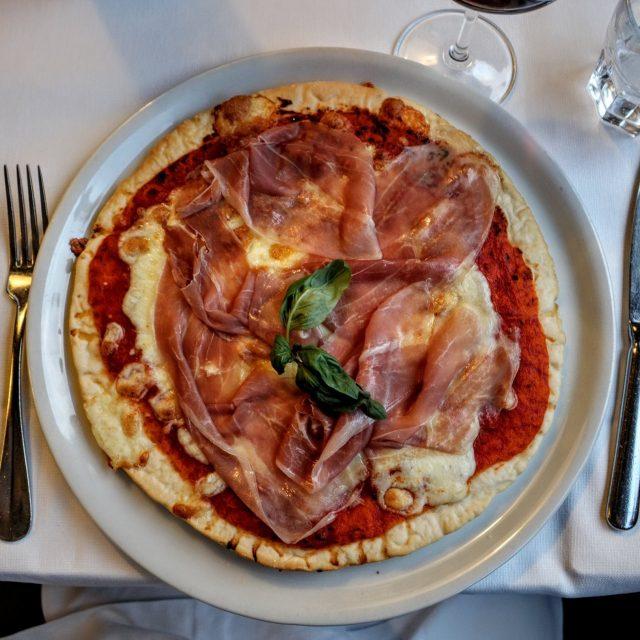 Katherine V. R. Sullivan ordered REAL Italian pizza