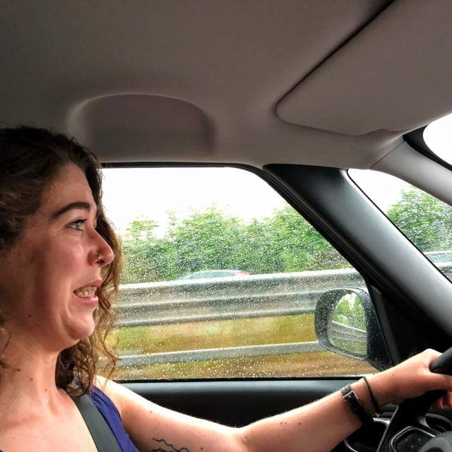 Katherine V.R. Sullivan terrified by driving to Cinque Terre