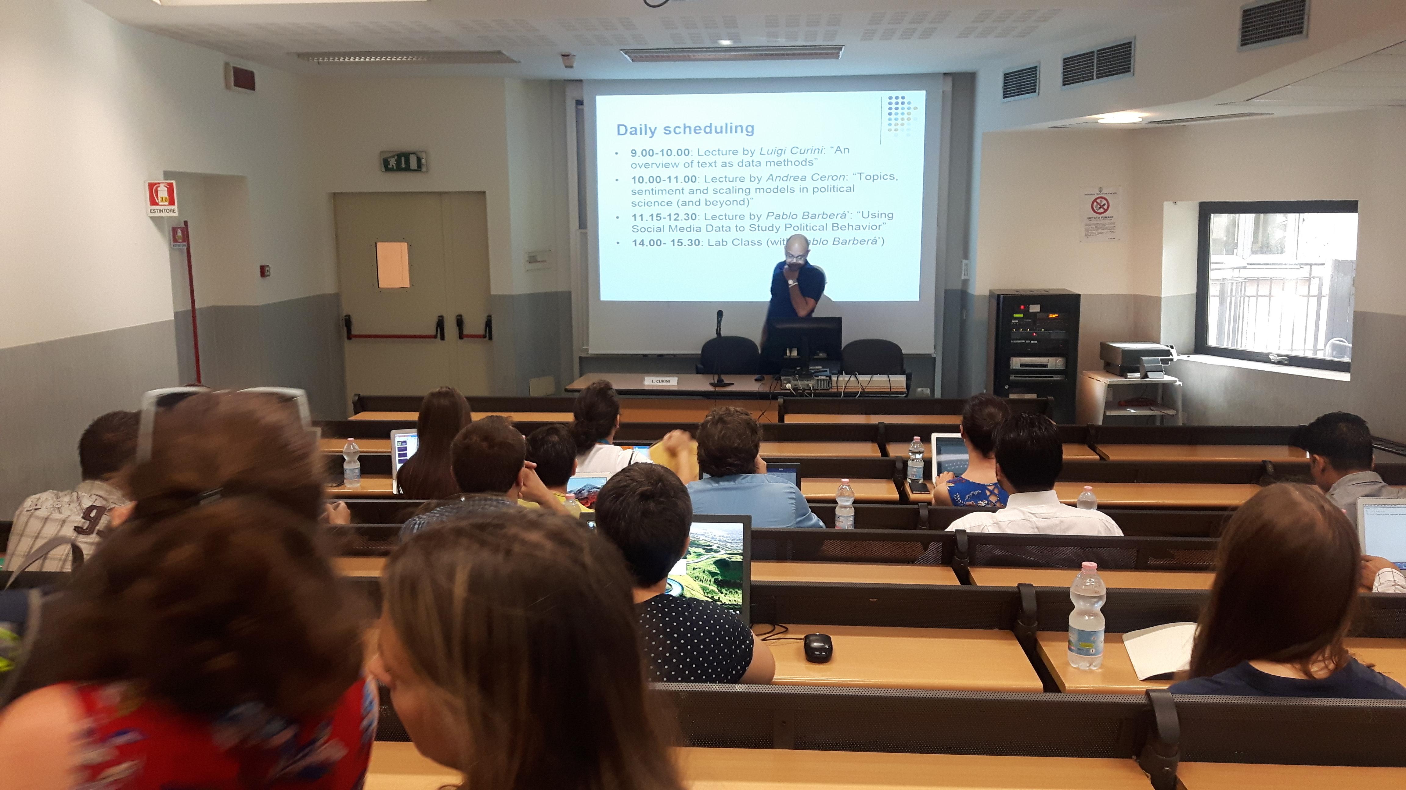 Luigi Curini's Lecture-2