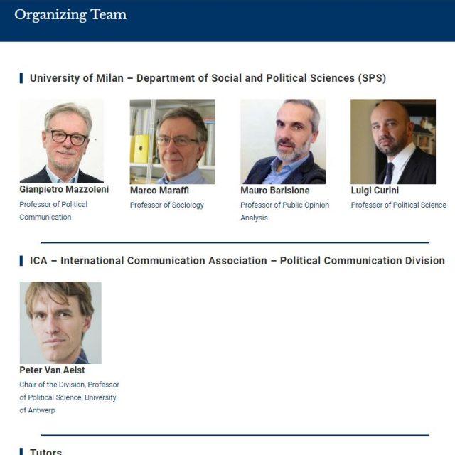 Organizers 2018