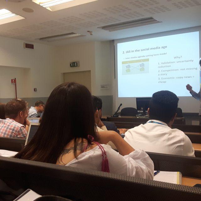 Peter Van Aelst's lecture-2