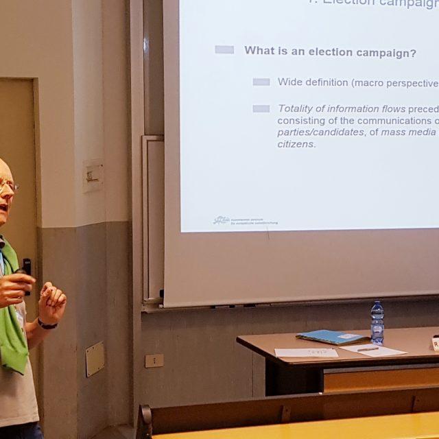 Ruediger Schmitt-Beck's Lecture-2