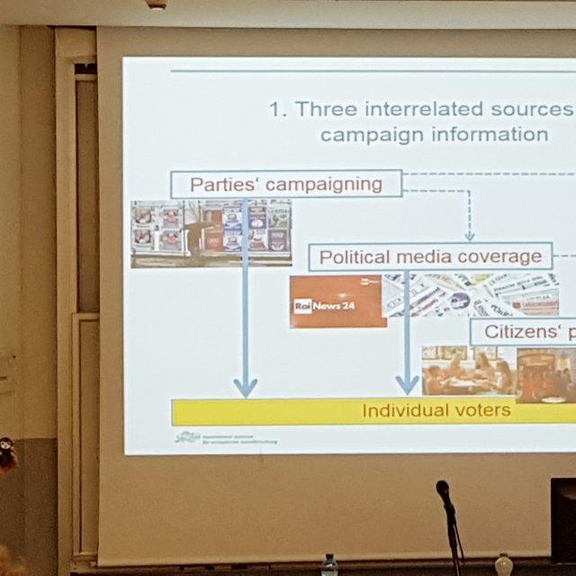 Ruediger Schmitt-Beck's Lecture-3